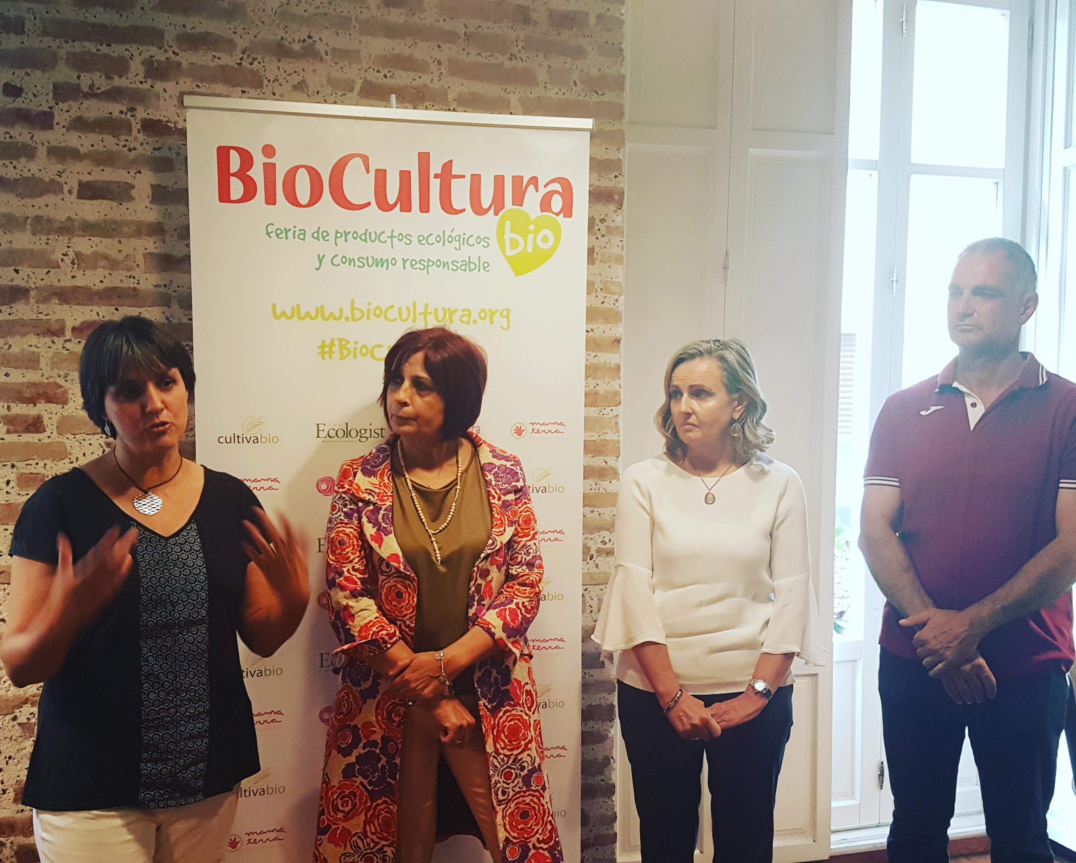 Rueda de prensa BioCultura Valencia 2017