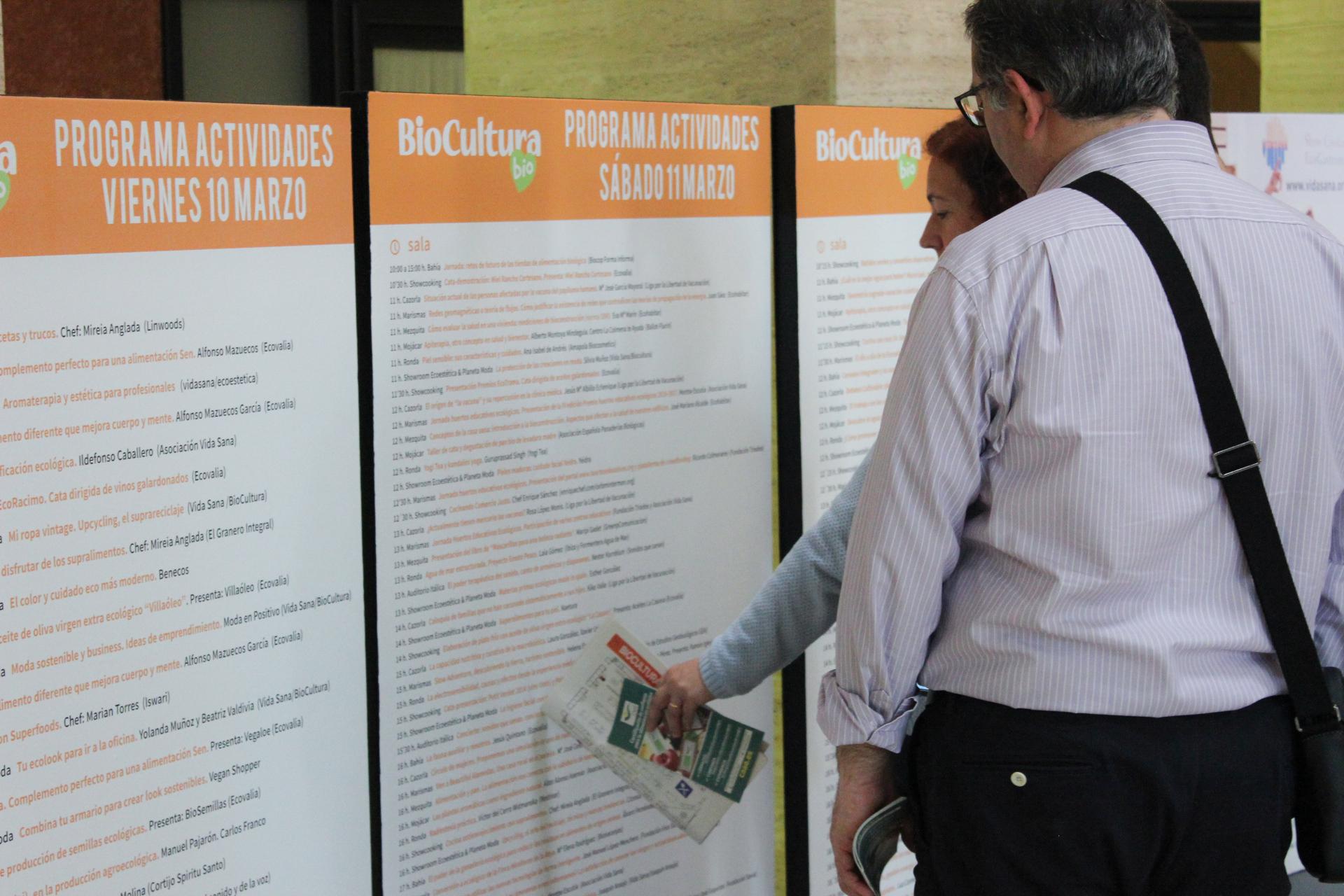 Gran oferta de actividades en BioCultura Sevilla
