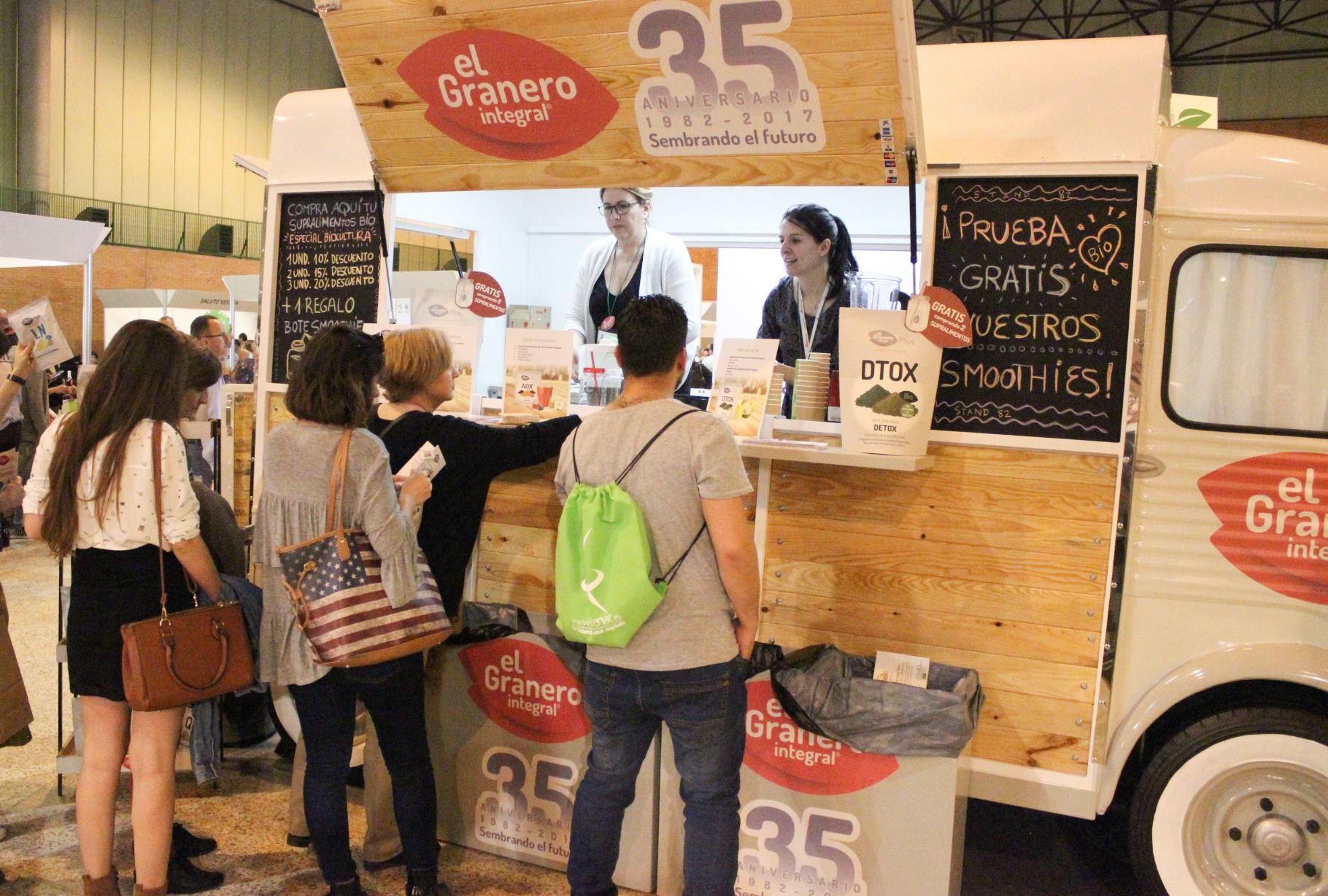 Foodtrucks en BioCultura Sevilla