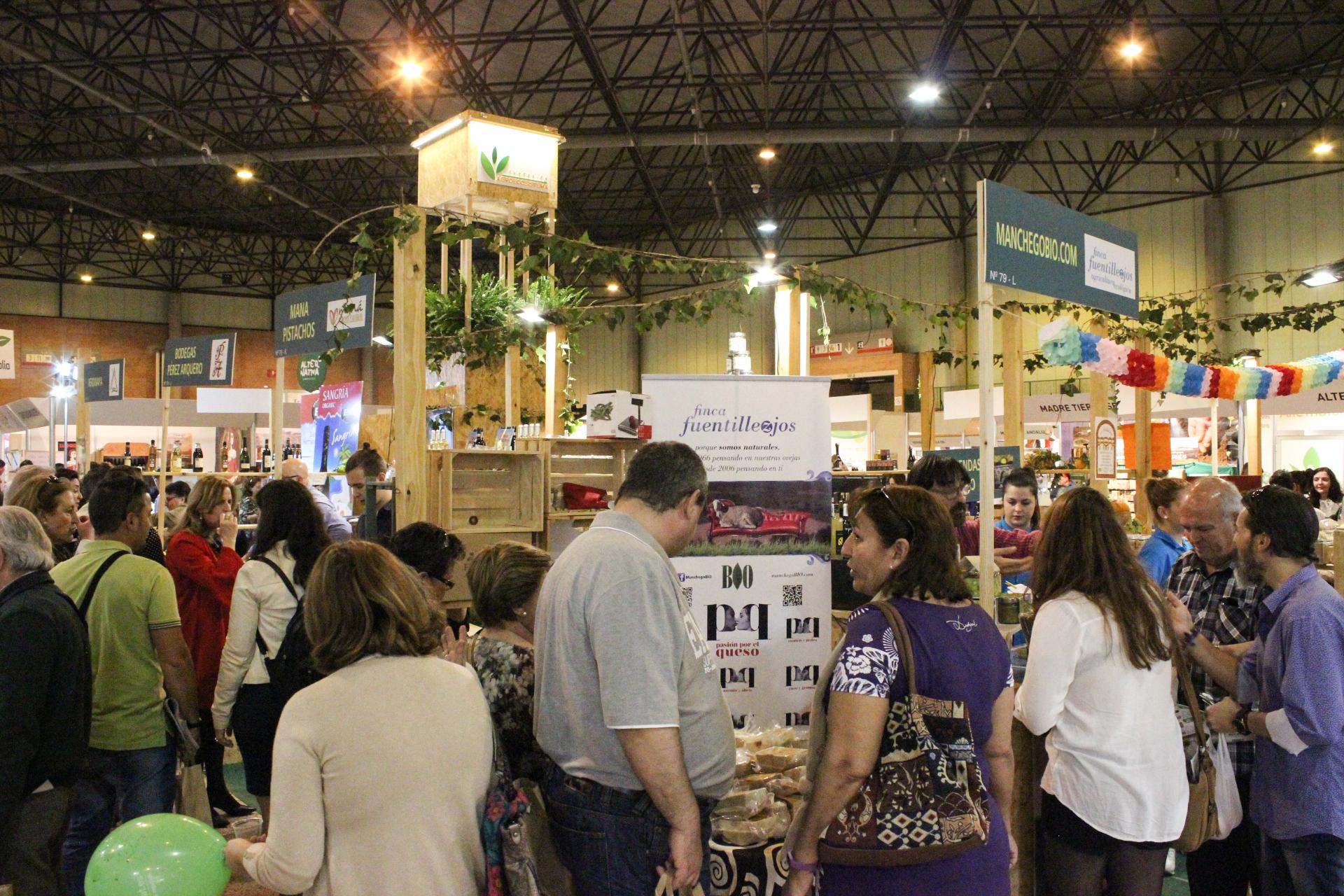 Gran afluencia de público a BioCultura Sevilla