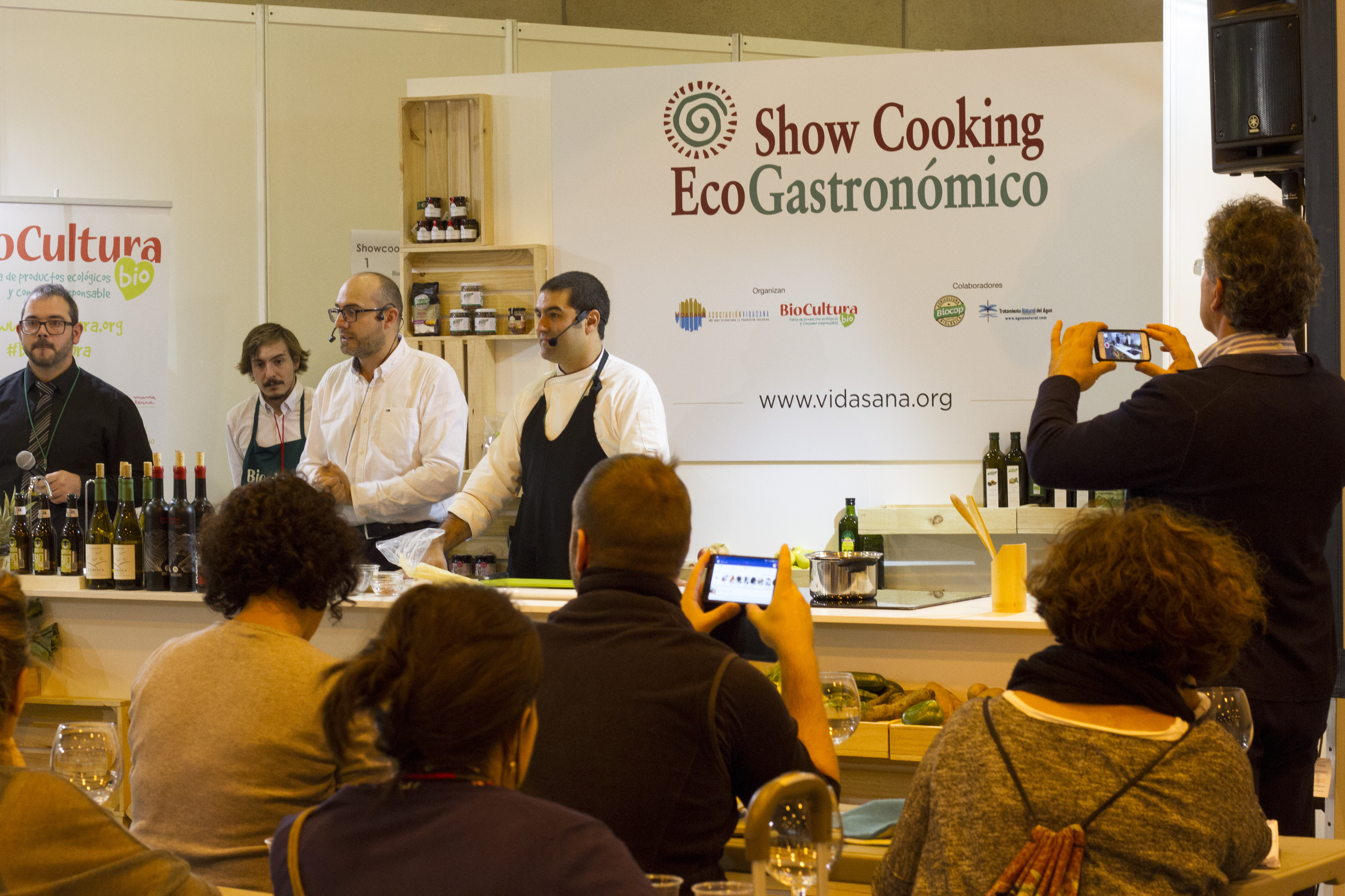 Showcooking BioCultura Madrid 2017 (1)