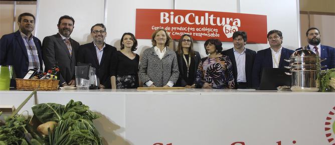 BRINDIS ECOLÓGICO POR EL ARRANQUE DE BIOCULTURA SEVILLA