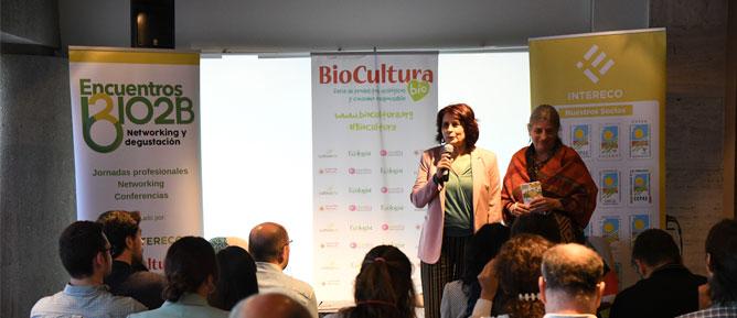 GRAN ACOLLIMENT DE LES TROBADES BIO2B EN BIOCULTURA BARCELONA