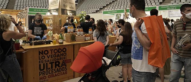BIOCULTURA BCN 2021 LA FERIA CERRÓ SU 27ª EDICIÓN