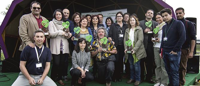 Premios BioCultura 2016. Unos premios muy  orgánicos