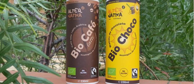 BATIDO BIOCHOCO Y CAFé LATTE BIOCAFé
