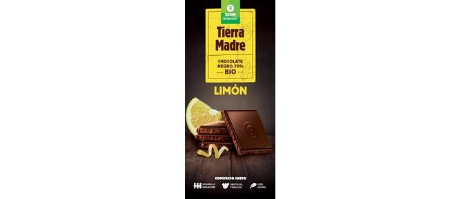 TABLETA CHOCO NEGRO 70% LIMON BIO