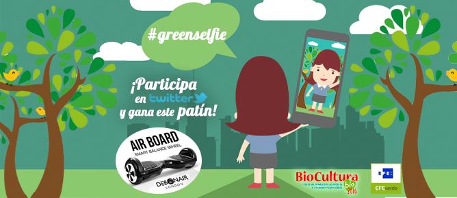 Comparte tu #Greenselfie y gana un patín eléctrico